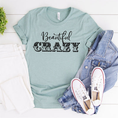 Beautiful Crazy Tee - Limeberry Designs