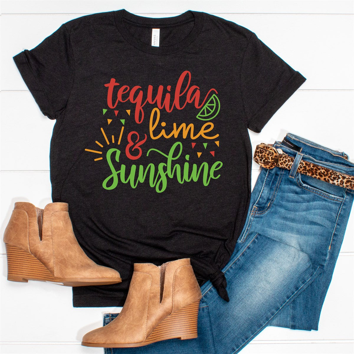 Tequila Lime Sunshine Tee - Limeberry Designs