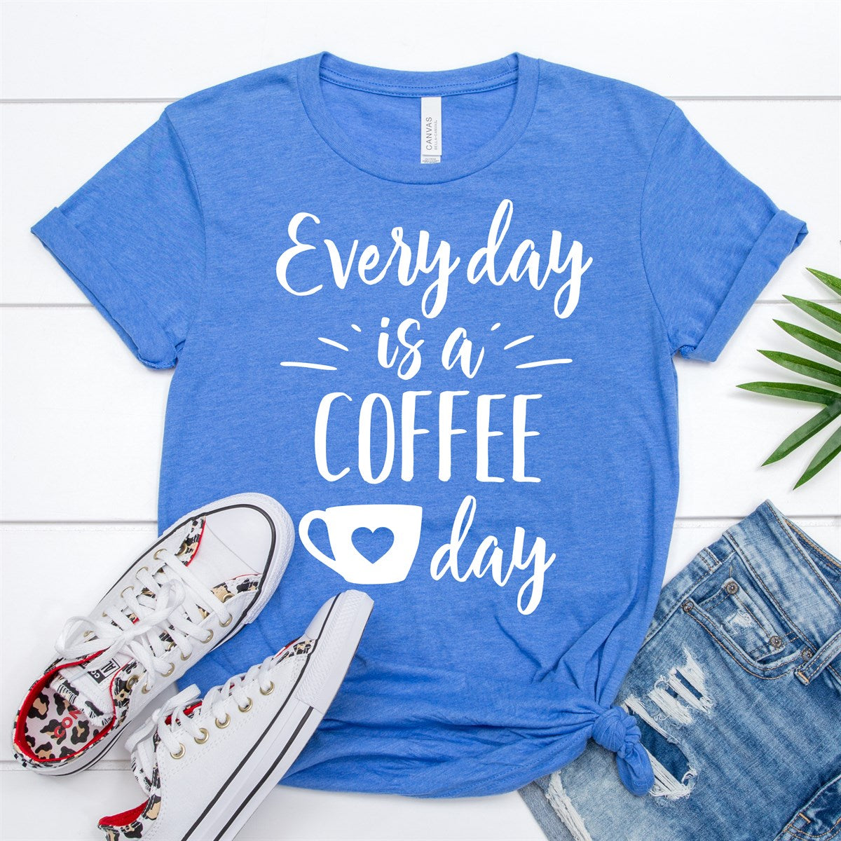 Everyday Coffee Day Tee - Limeberry Designs