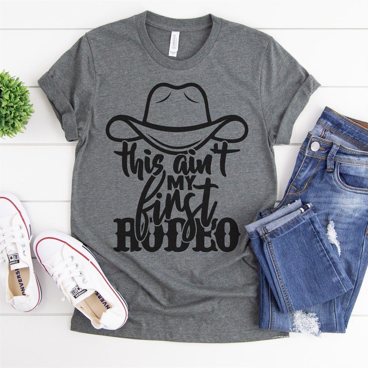 Ain't My First Rodeo Tee - Limeberry Designs