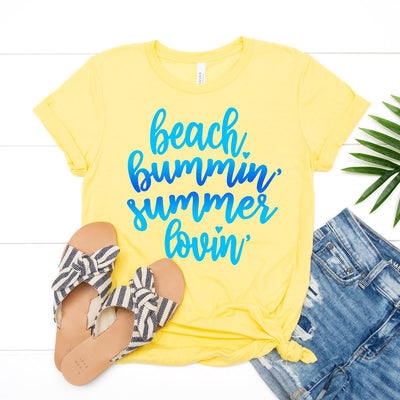 Beach Bummin' Tee - Limeberry Designs