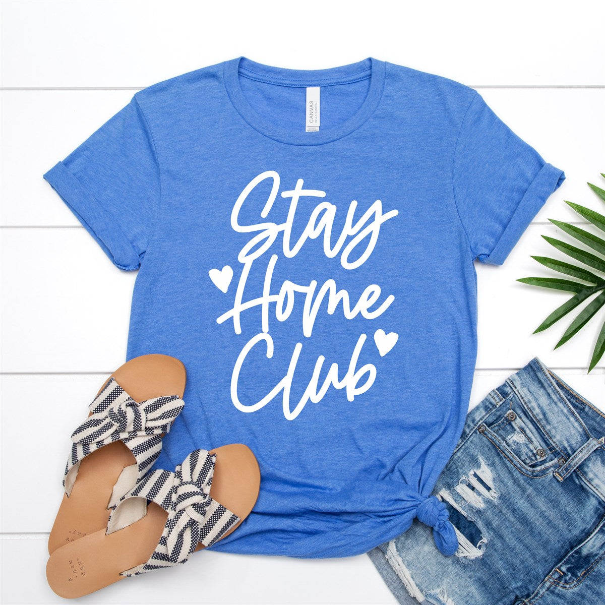 Stay Home Club Tee - Limeberry Designs