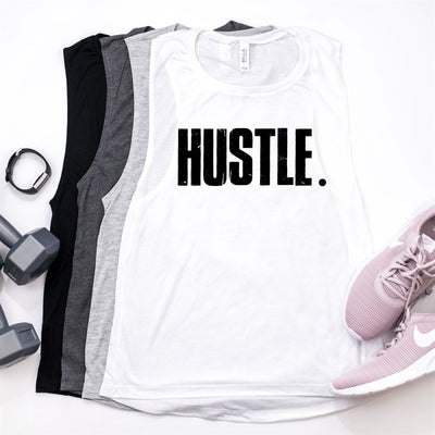 Hustle Workout Tank - Limeberry Designs