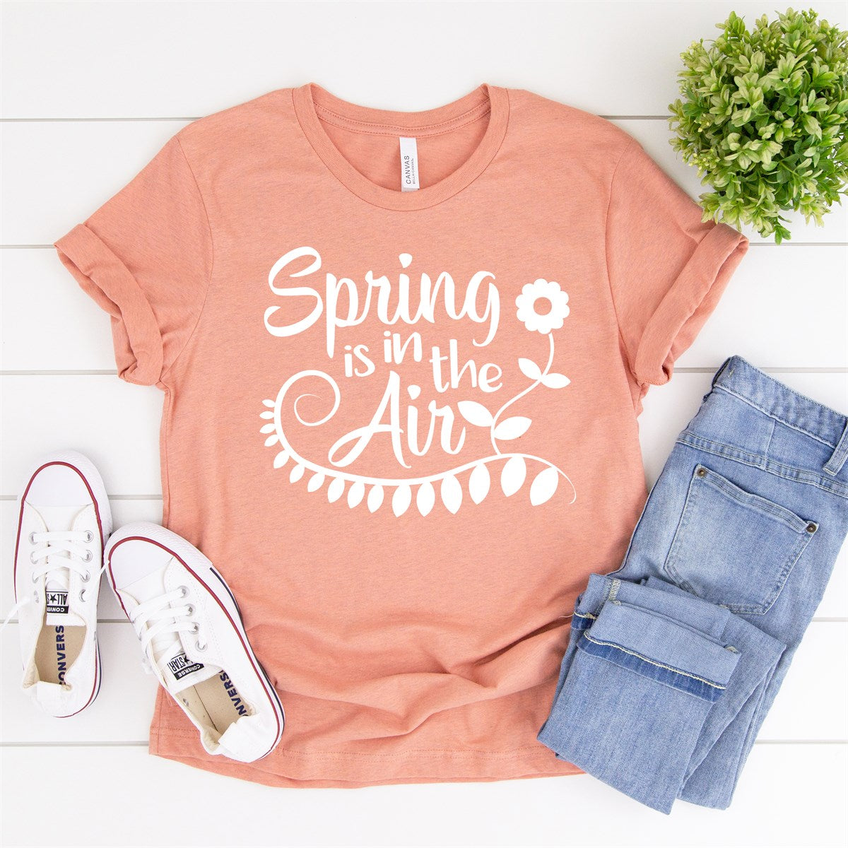 Spring Is In The Air Tee - Limeberry Designs
