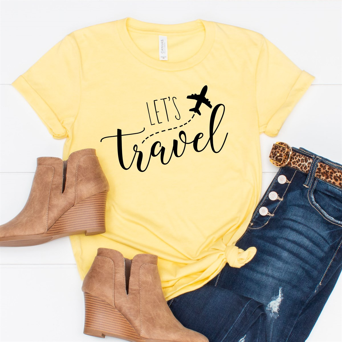 Let's Travel Tee