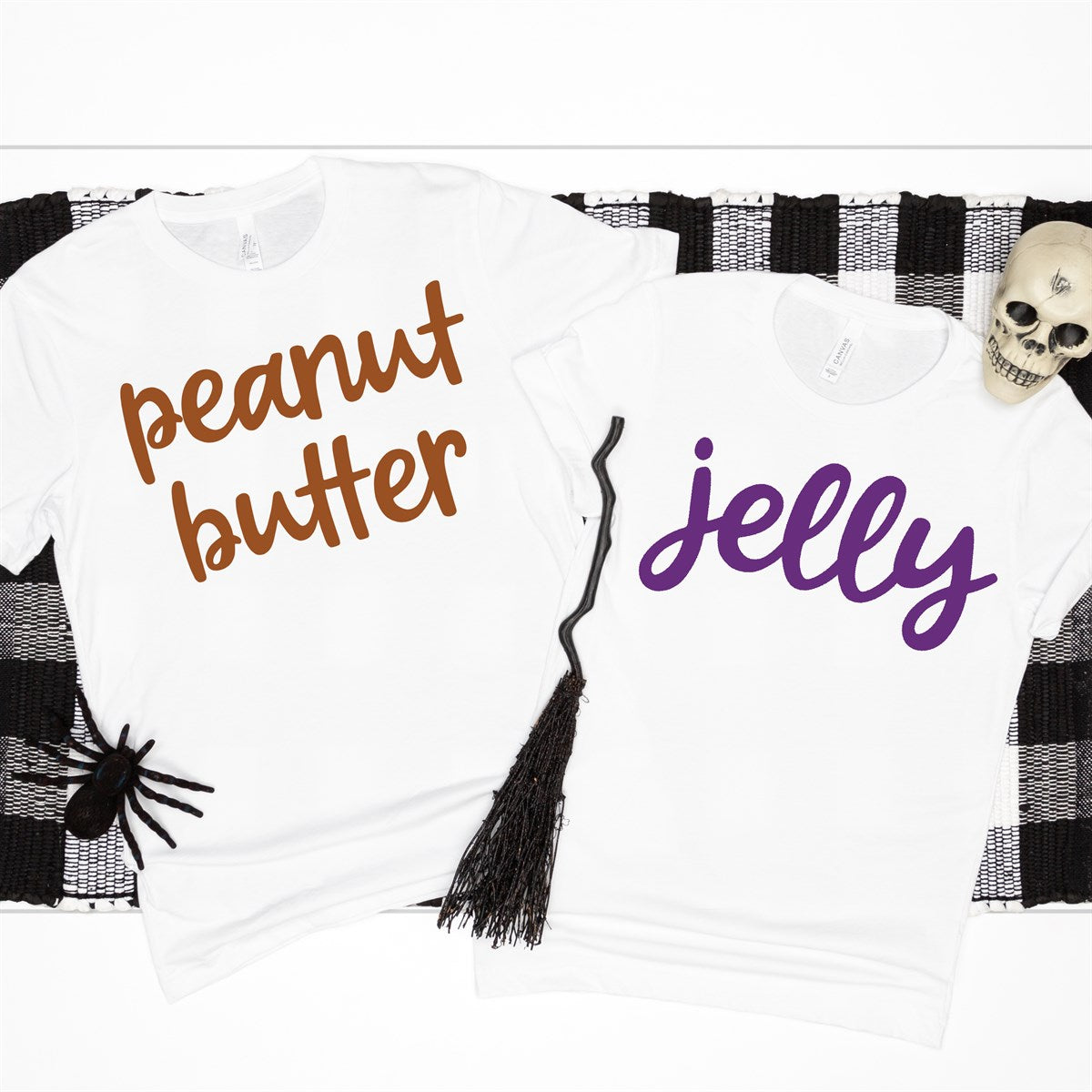 Peanut Butter & Jelly Costume Tees