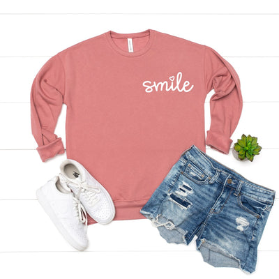 Smile Pocket Sweatshirt