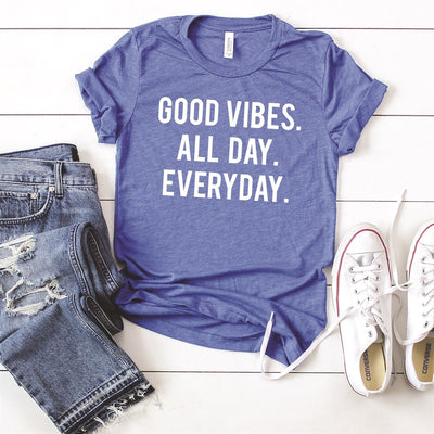 Good Vibes Tee - Limeberry Designs
