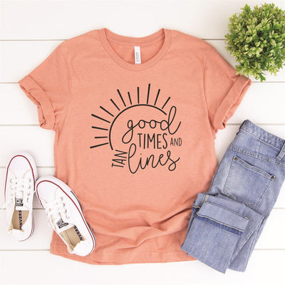 Good Times Tee - Limeberry Designs