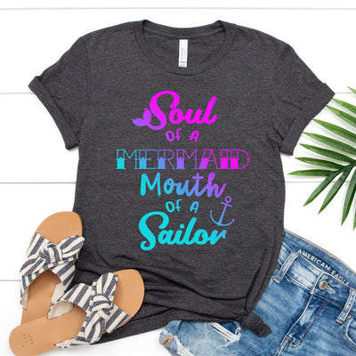 Soul Of A Mermaid Tee - Limeberry Designs