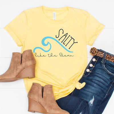 Salty Like The Ocean Tee - Limeberry Designs