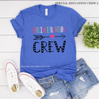 Special Education Crew Tee