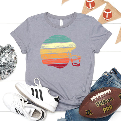 Retro Football Helmet Tee