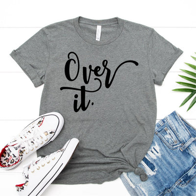 Over It Tee - Limeberry Designs
