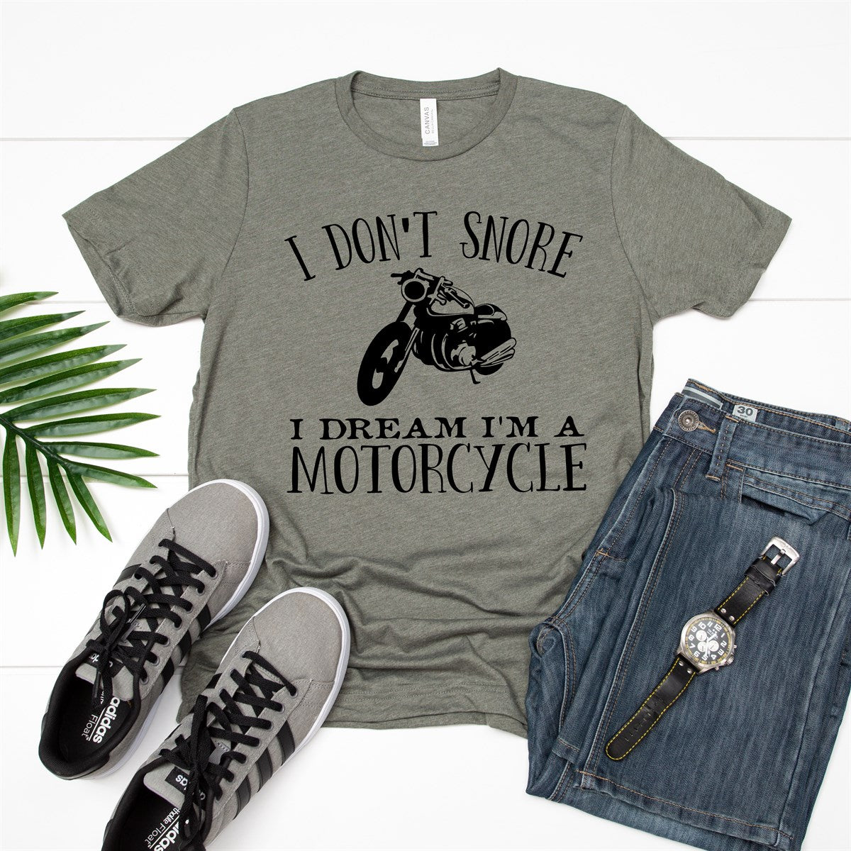 I Don't Snore Tee - Limeberry Designs