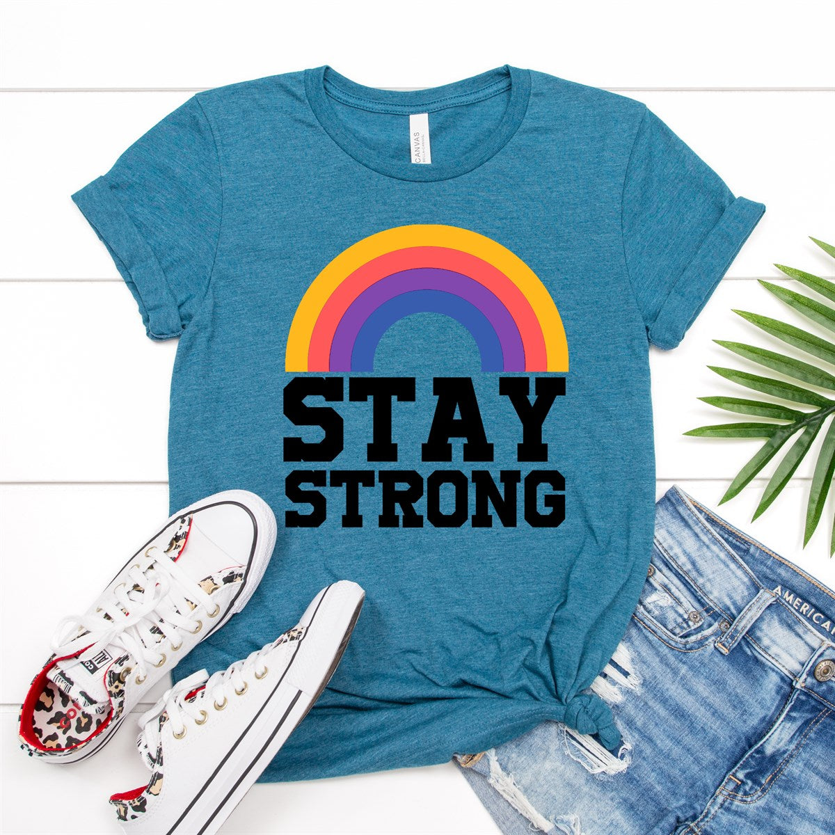 Stay Strong Tee - Limeberry Designs