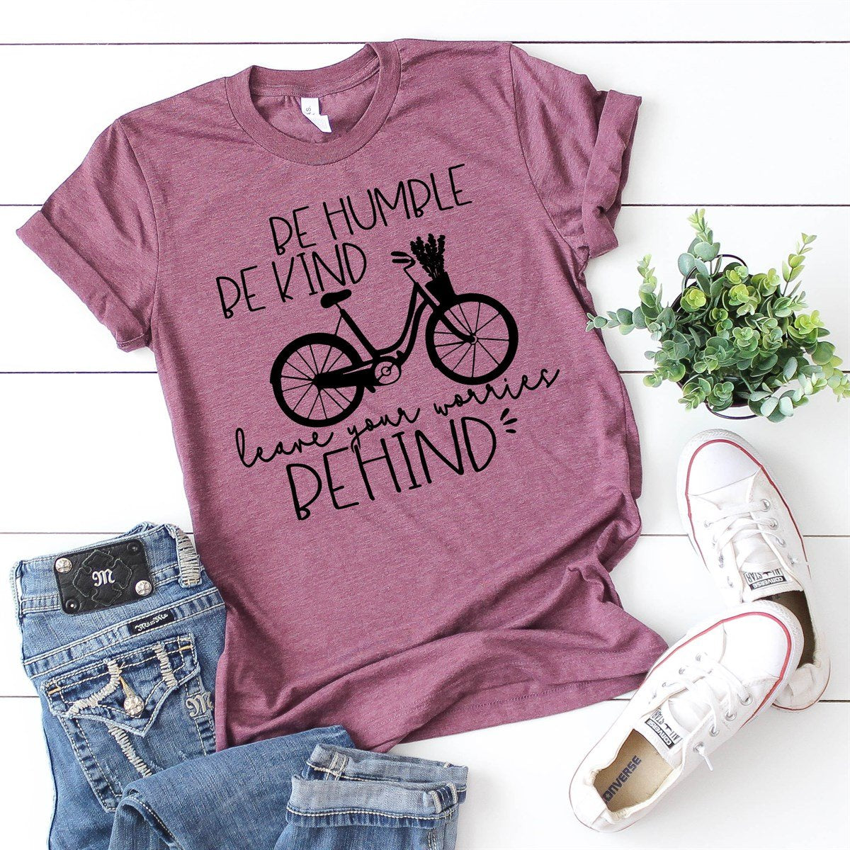 Be Humble Be Kind Tee - Limeberry Designs