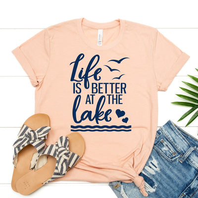 Life Is Better At The Lake Tee - Limeberry Designs