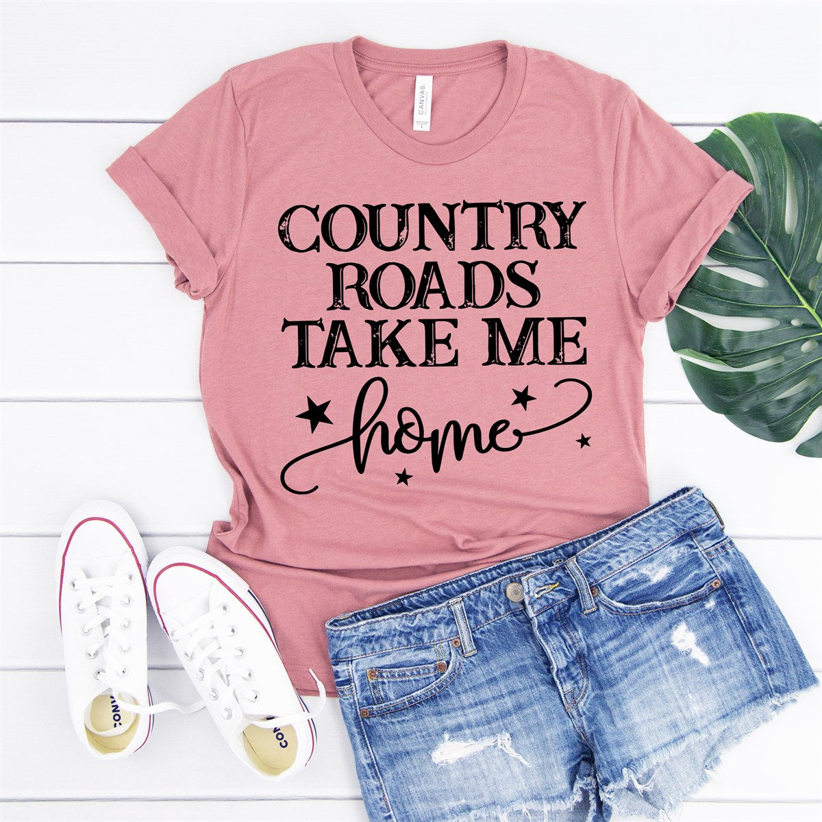 Country Roads Tee - Limeberry Designs