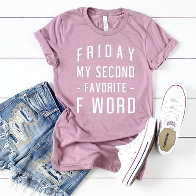Second Favorite F Word Tee - Limeberry Designs