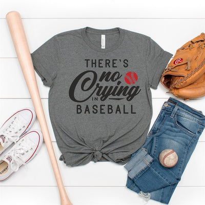 No Crying In Baseball Tee - Limeberry Designs