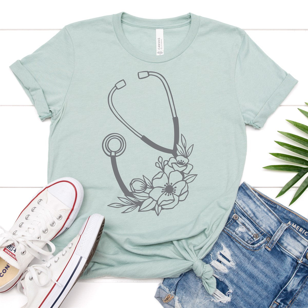 Stethoscope Tee - Limeberry Designs