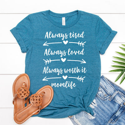 Always Worth It Tee - Limeberry Designs
