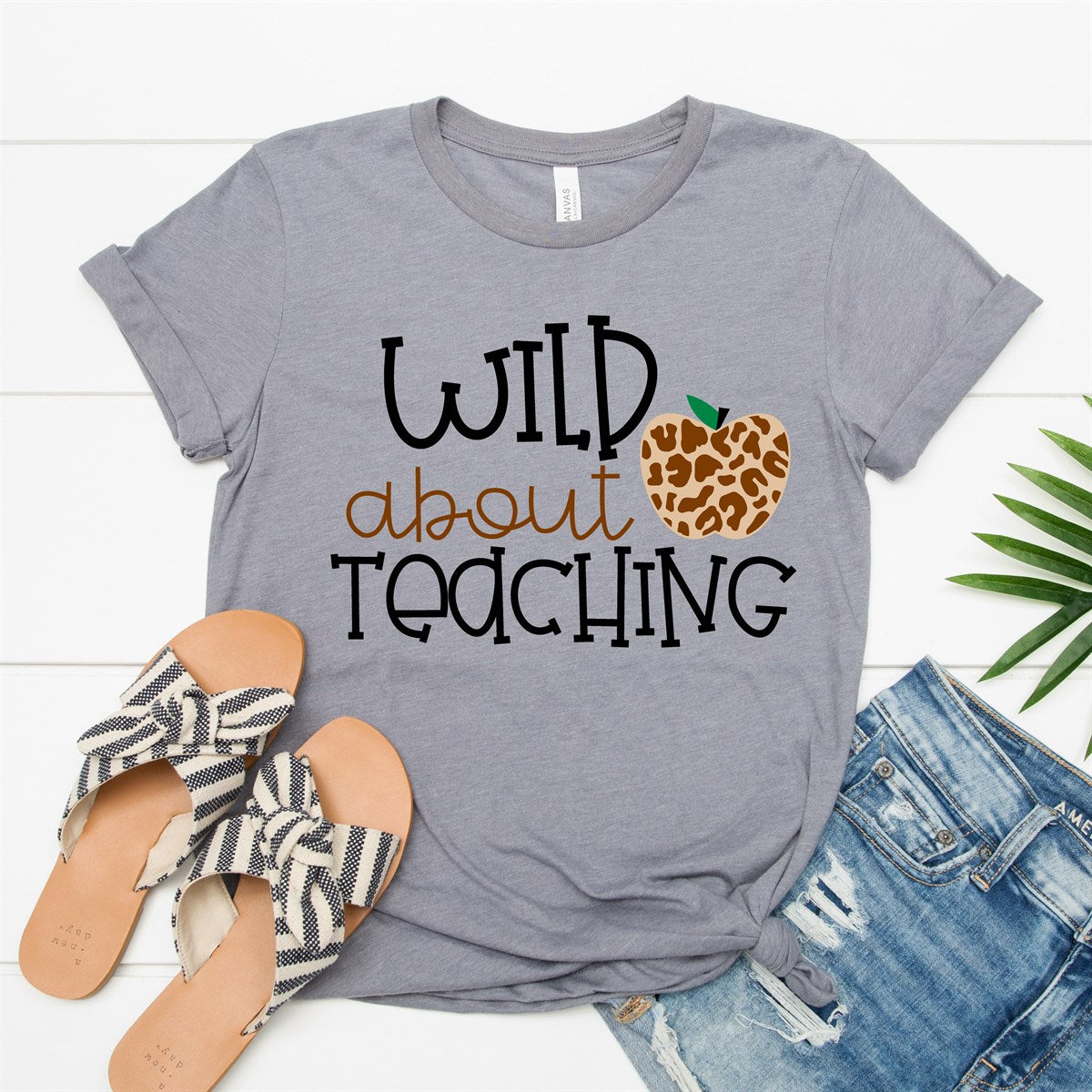 Daily Deal - Wild About Teaching Tee