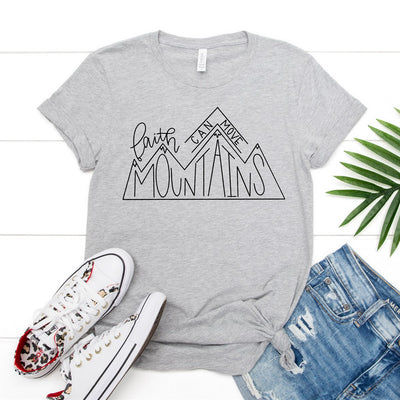 Move Mountains Tee - Limeberry Designs