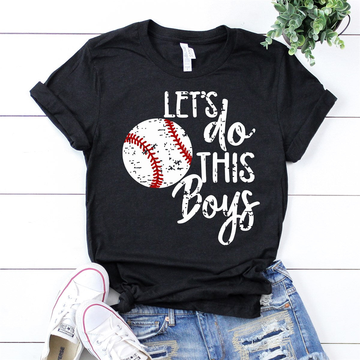 Let's Do This Boys Tee - Limeberry Designs