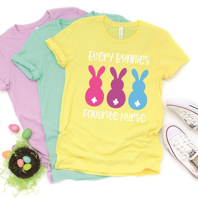 Every Bunnies Favorite Nurse Tee - Limeberry Designs