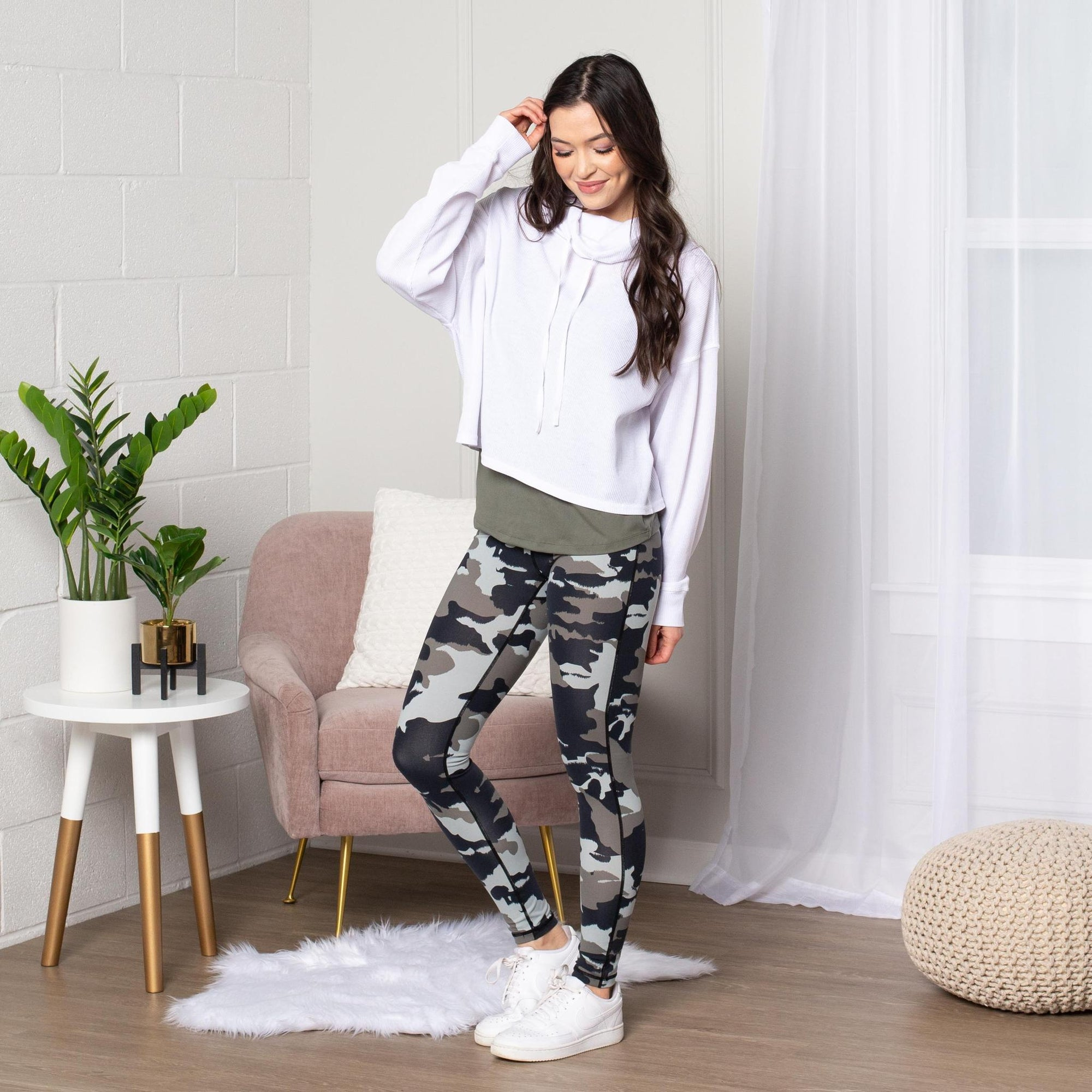Jungle Camo Leggings - Limeberry Designs