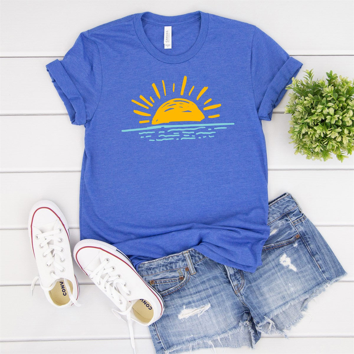 Sunset Tee - Limeberry Designs