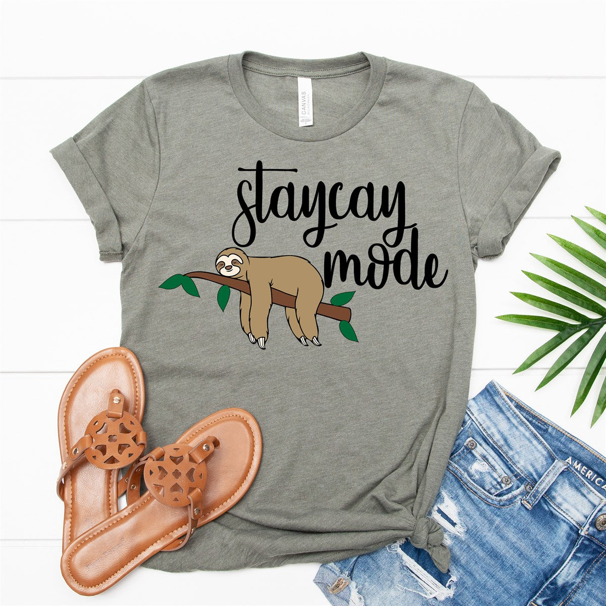 Staycay Mode Tee - Limeberry Designs