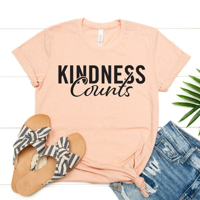Kindness Counts Tee - Limeberry Designs