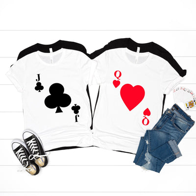 Playing Cards Group Halloween Tees