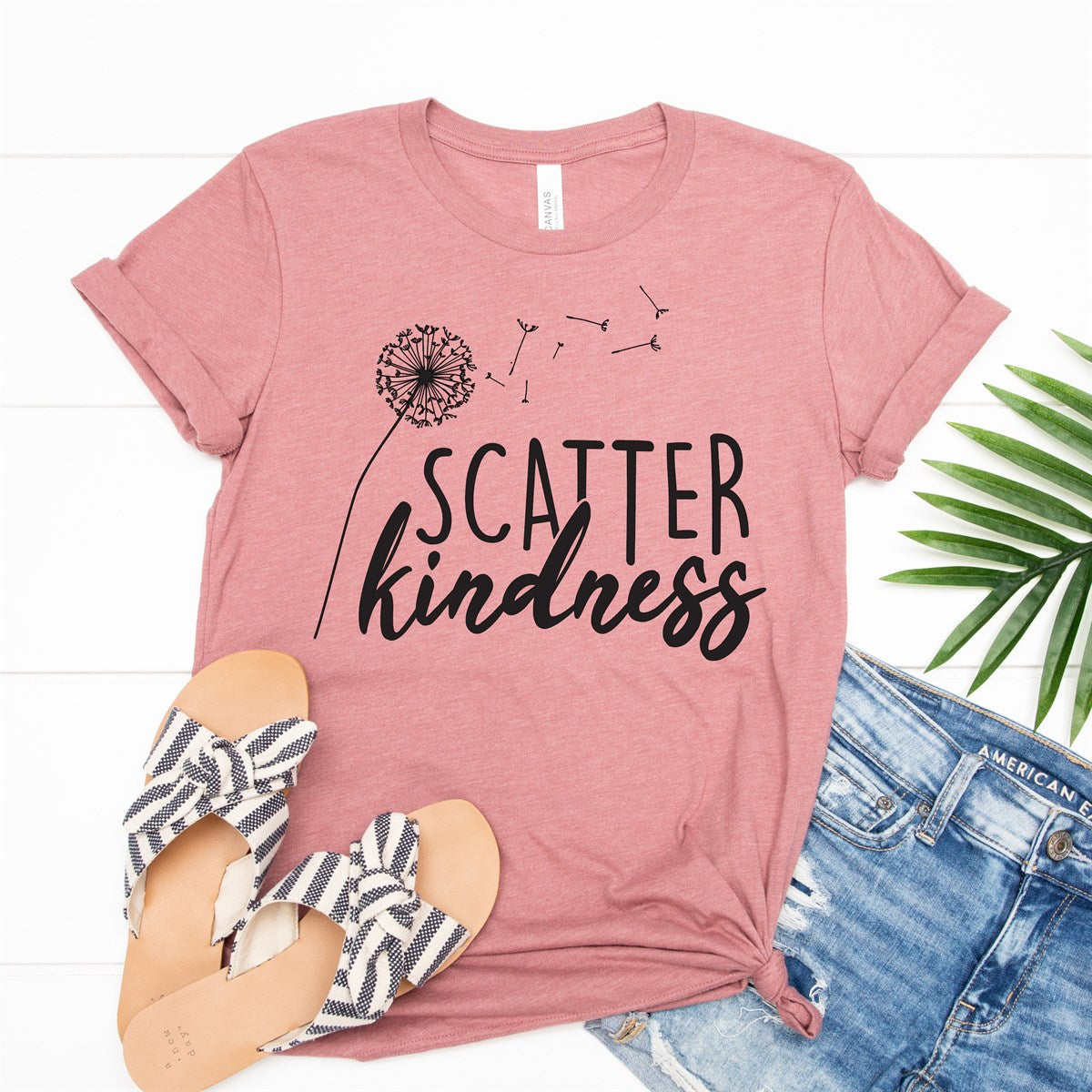 Scatter Kindness Tee - Limeberry Designs