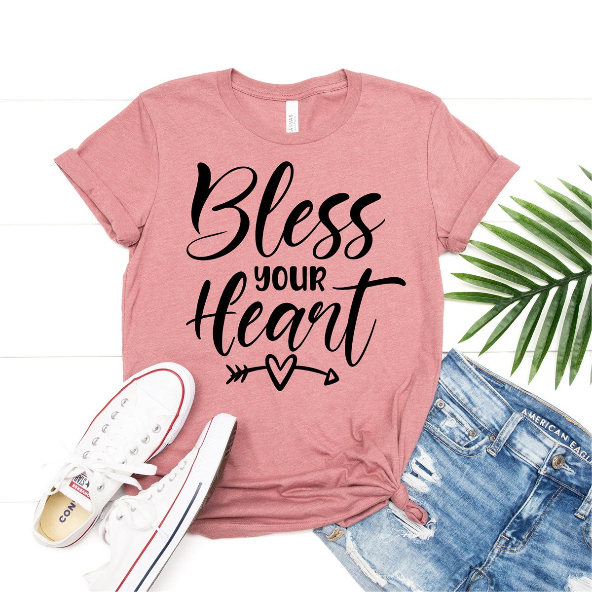 Bless Your Heart Tee - Limeberry Designs