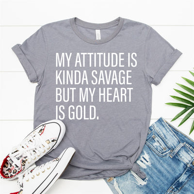 Heart Of Gold Tee - Limeberry Designs