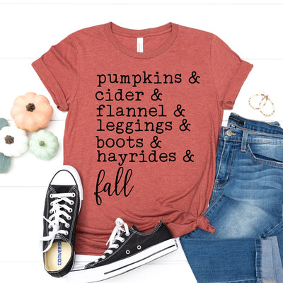 Fall Favorites Tee