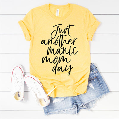 Manic Mom Day Tee - Limeberry Designs