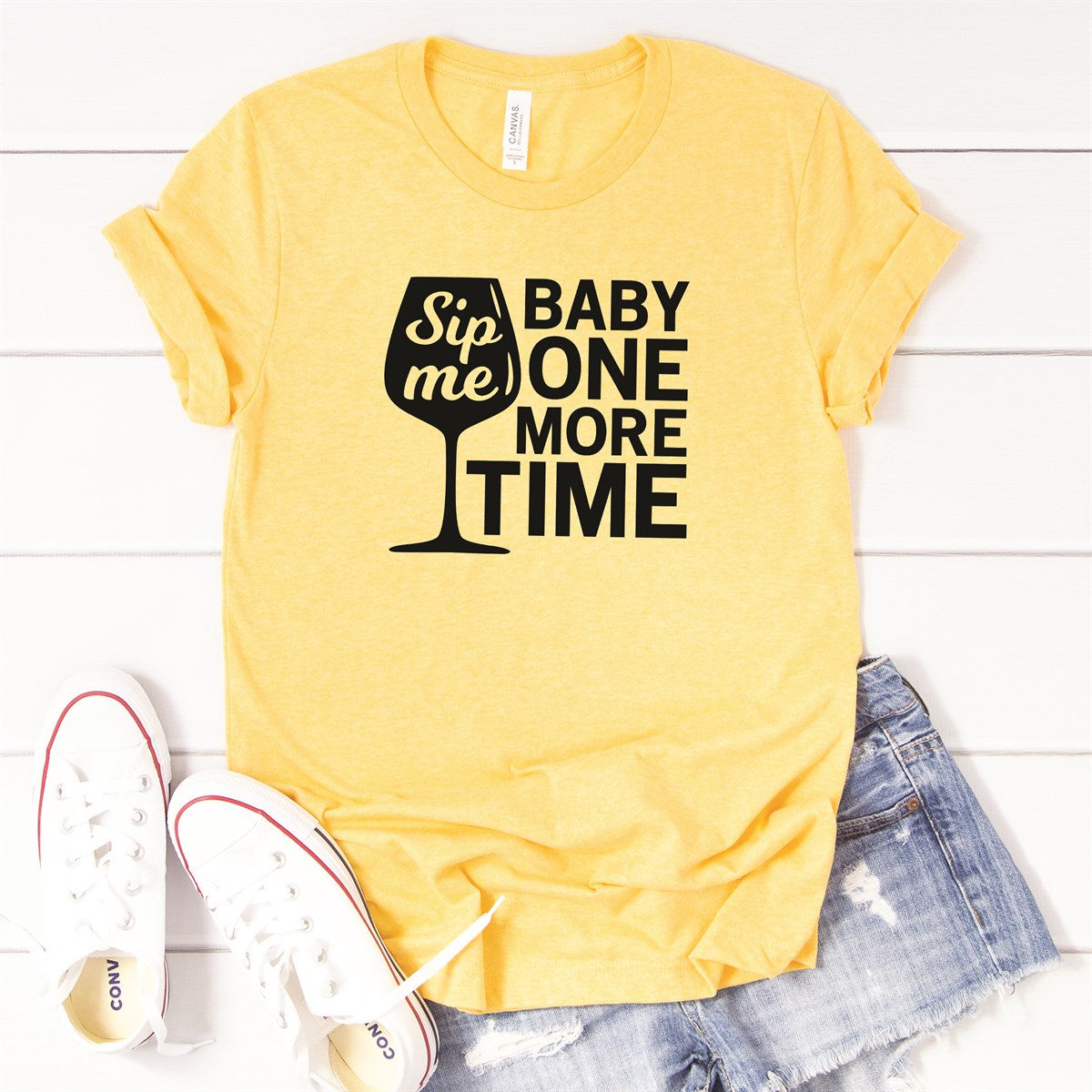 Sip Me Baby Tee - Limeberry Designs