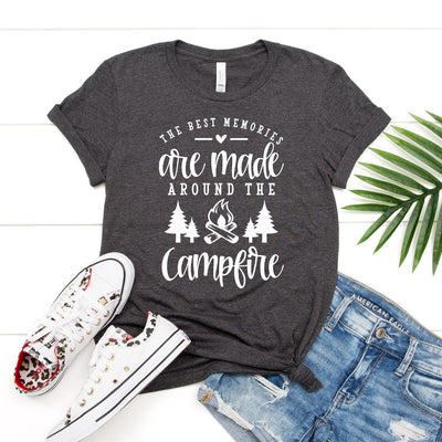 Memories Around The Campfire Tee - Limeberry Designs