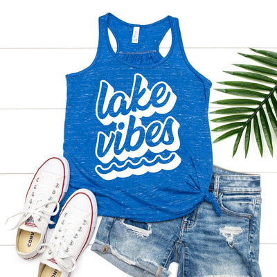 Lake Vibes Tank - Limeberry Designs