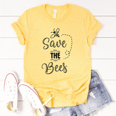 Save The Bees Tee - Limeberry Designs