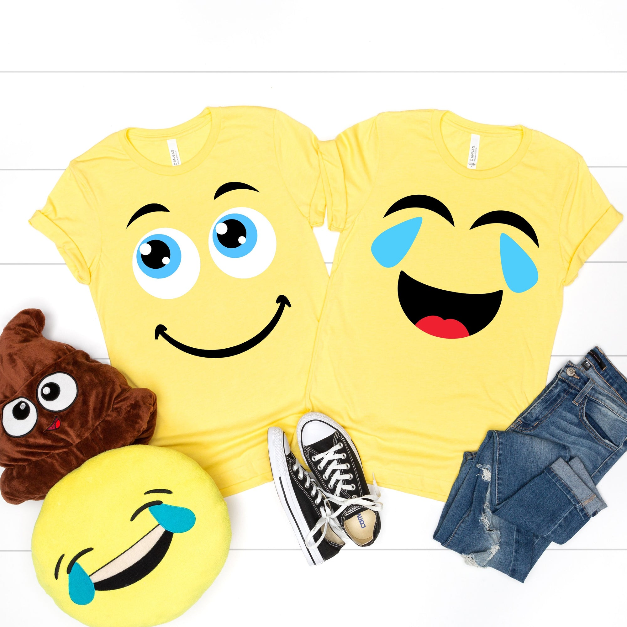 Emoji Group Halloween Tees