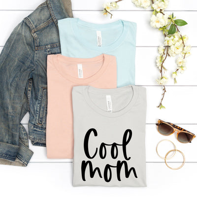 Cool Mom Script Tee - Limeberry Designs