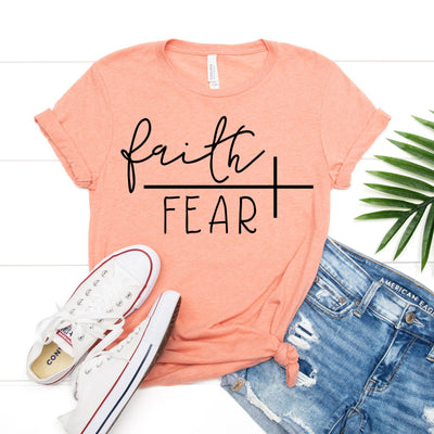 Faith Over Fear Tee - Limeberry Designs