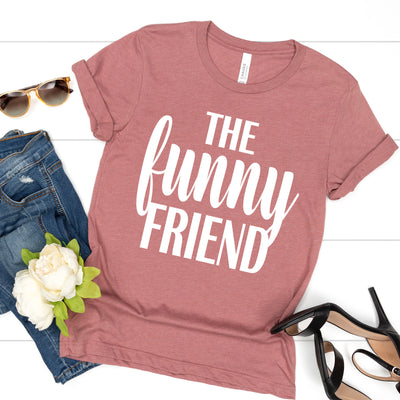 The Funny Friend Tee - Limeberry Designs
