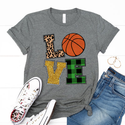 Love Basketball - Limeberry Designs